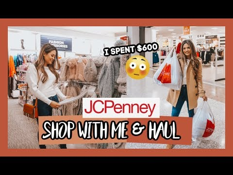 WHAT $600 AT JCPENNEY GETS YOU! | SHOP WITH ME & HAUL