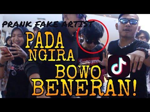 PRANK FAKE ARTIST BOWO Tiktok Kw NGERUSUHIN MALL SELURUH PENGUNJUNG BENGONG!