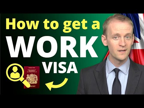 How To Get A Work Visa In The UK In 5 Steps ... And Get A Job! In 2020 - (Tier 2 General Visa)