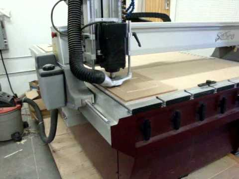 Gerber Sabre 408 Cnc Router Used For Sale Youtube