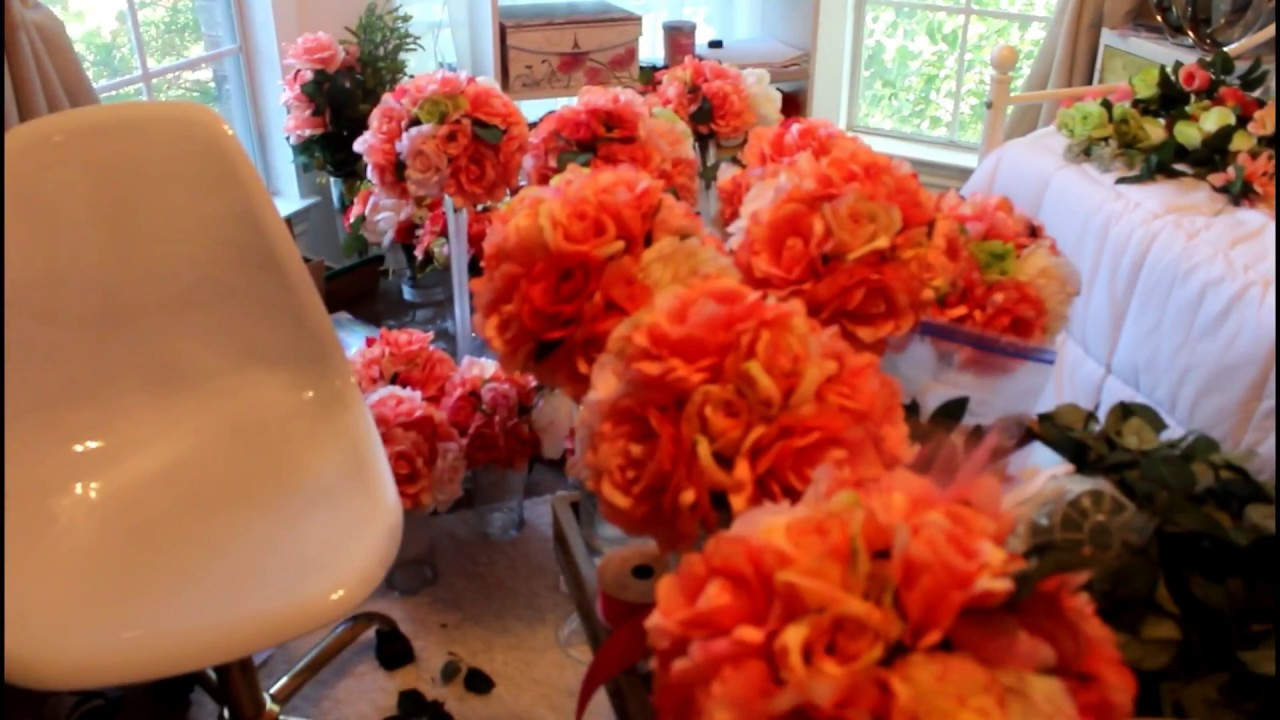 Coral Wedding Decor Pure Beauty Youtube