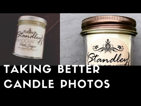How to take better pictures of your candles : Part one
