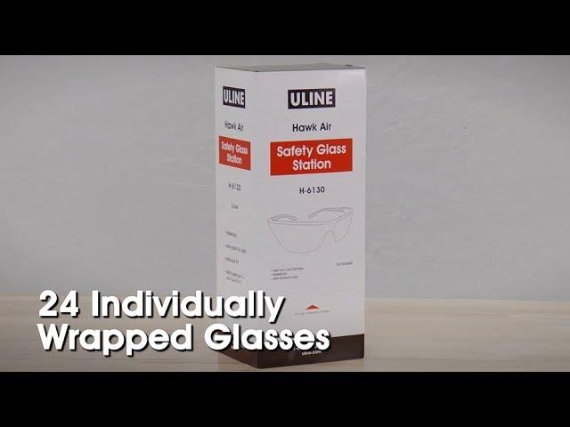 34fe8f37194 Uline Hawk Air™ Safety Glasses Dispenser Box - YouTube
