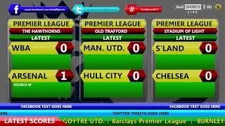 Avid Sports Live Updates - Football On A Saturday - 29th November 2014