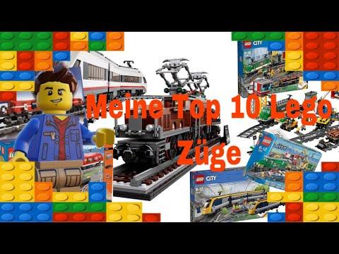 Meine Top 10 Lego Züge