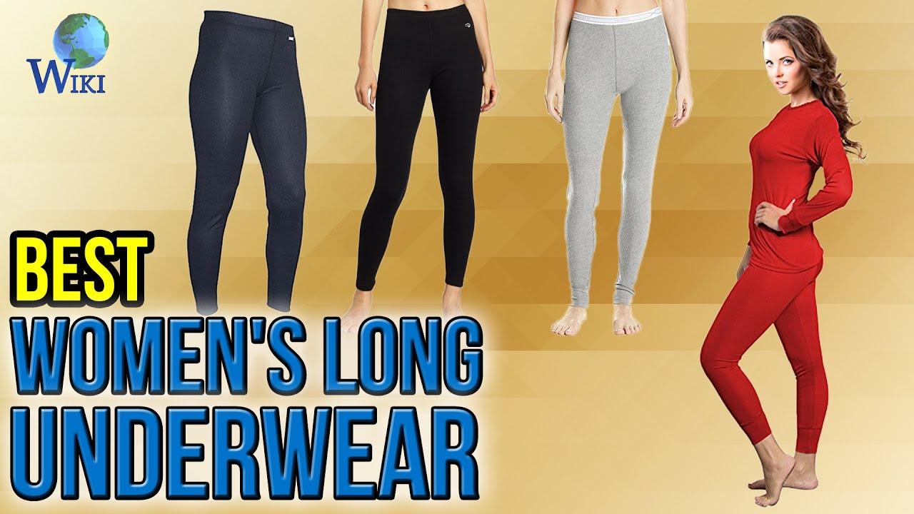 8 Best Women's Long Underwear 2017 - YouTube