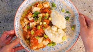 Tofu and tomato stew - for tho…