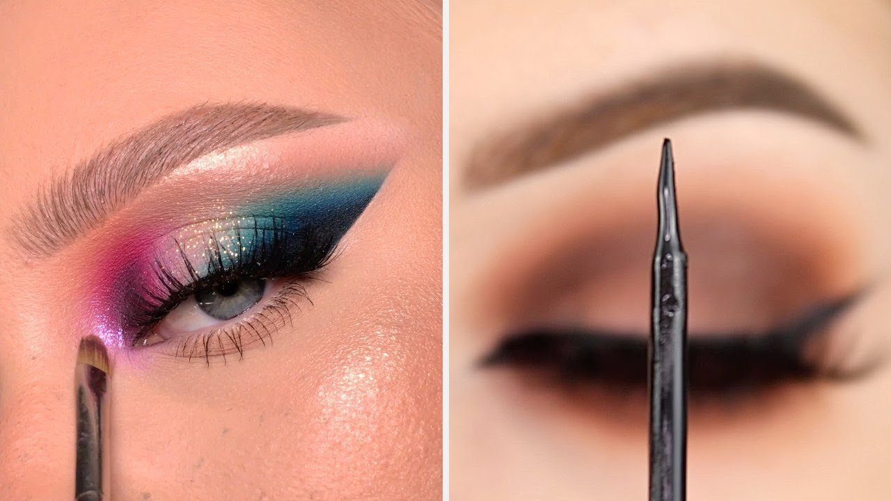 Pretty Eye Makeup Styles, Ideas And Eyeliner Tutorials | Compilation Plus