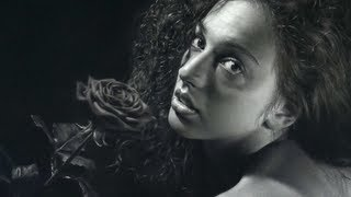 Hyperrealism SPEED DRAWING by Emanuele Dascanio! Rosa Rùtila - 250 hours time-lapse
