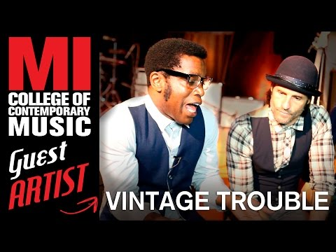 Vintage Trouble Interview at Musicians Institute