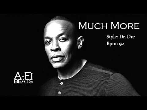 Much More - Dr. Dre Style Beat