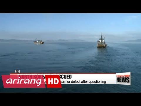 S. Korean authorities pick up 4 N. Korean sailors drifting in East Sea