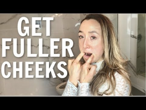 Get Fuller Cheeks with Face Yoga Exercises! (Fix Sunken Hollow Lower Cheeks)