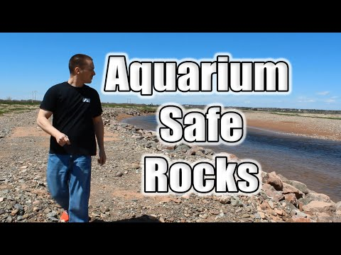 HOW TO: Aquarium Safe Rocks TUTORIAL