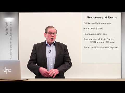 Agile Programme Management (DSDM) AgilePgM - An Introductory video on the Accredited Course