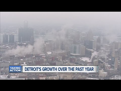 Celebrating Detroit's growth over the past year
