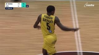 Daeshon Francis | 35-point game | vs. KTP-Basket 6.2.2021