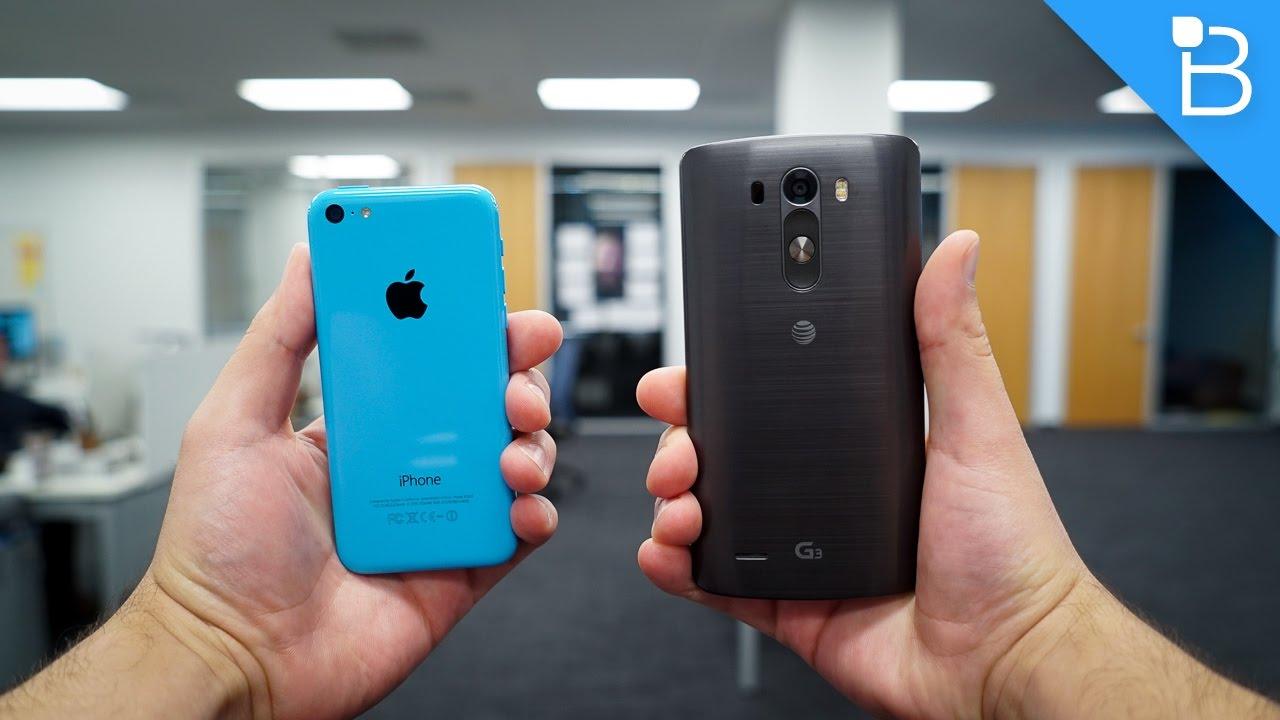 Lg V Vs Iphone