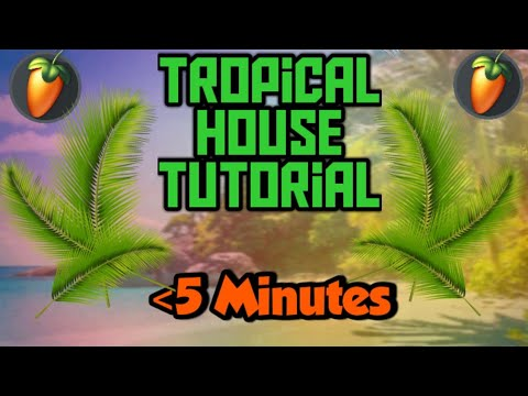 How to make Tropical House music within 5 minutes! | #TropicalHouse like #Kygo |