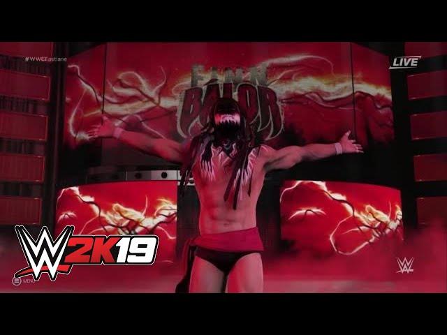 WWE 2K19 Finn Balor entrance video | Wrestling Amino