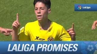 Resumen de Villarreal CF (4-0) Real Madrid - Semifinales LaLiga Promises