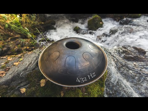 Relaxing music   Hang drum   Ambient   432 Hz   ♬017