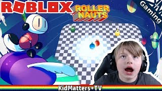 Rolling Thunder of ROLLERNAUTS / Last Player Standing! ROBLOX rollernauts gameplay[KM+Gaming S02E47]