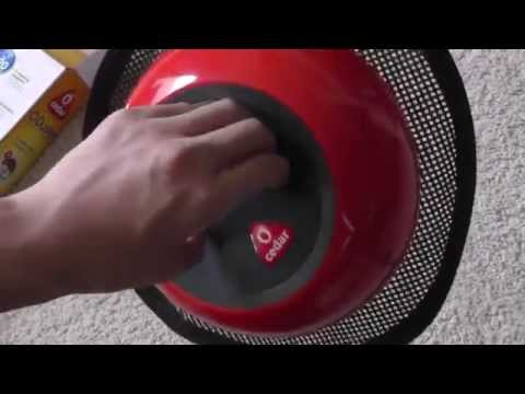 Cedar O' Duster Robotic Floor Cleaner Unboxing: