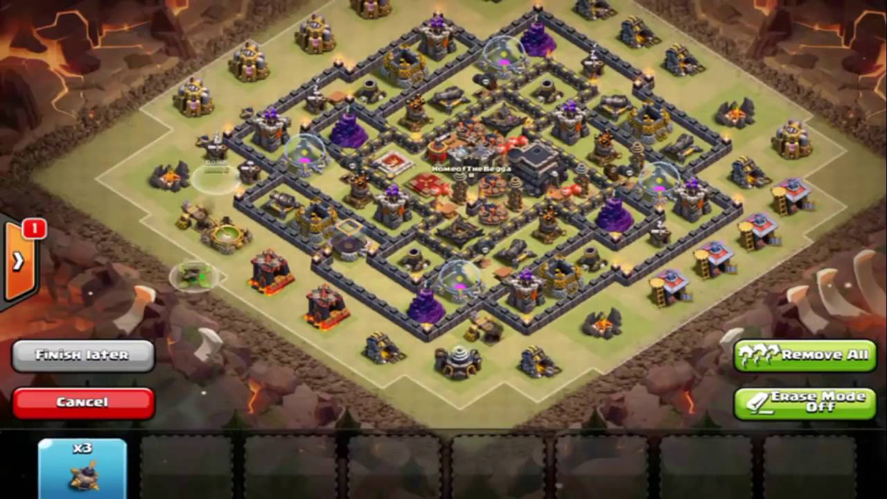 Base War Th 9 Bintang 1 6