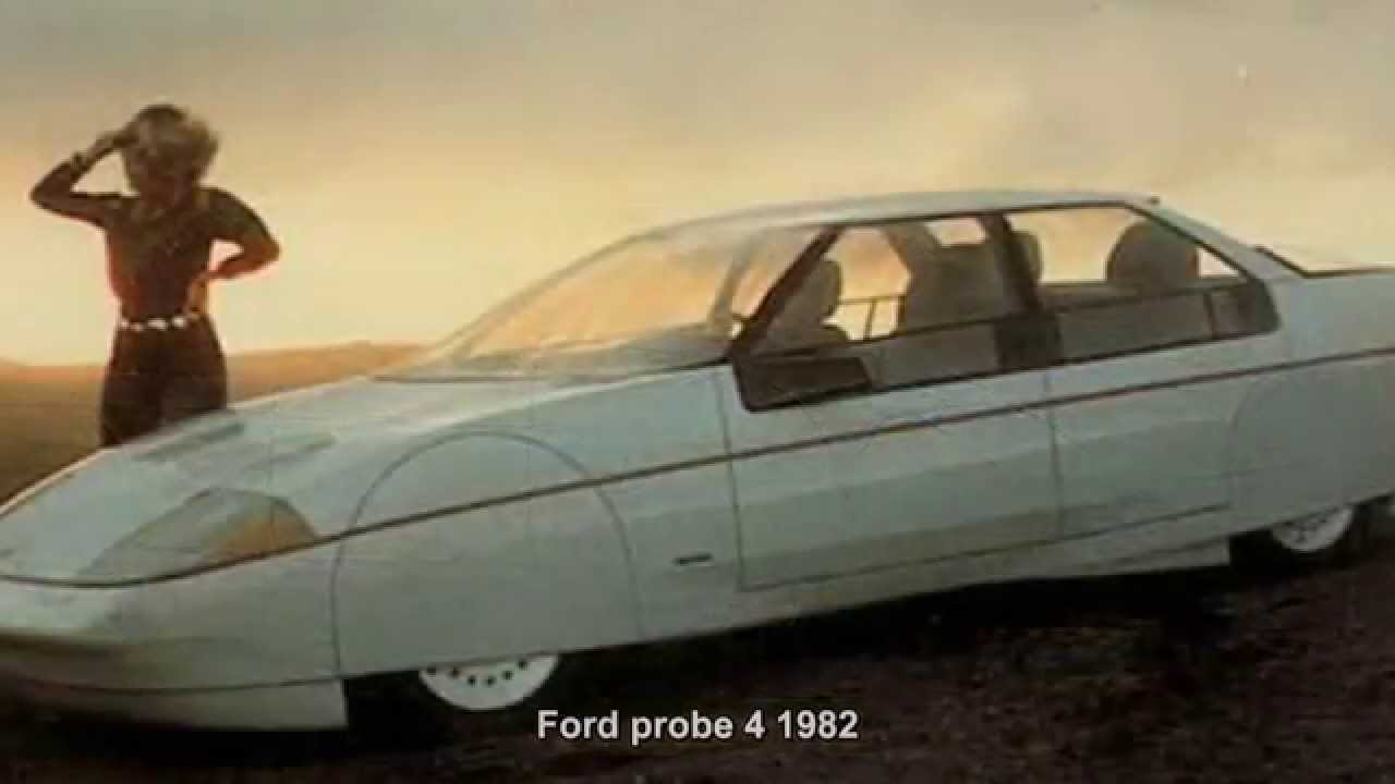 Ford Probe 4 1982 Prototype Car CONCEPT CAR