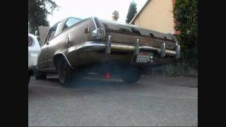 1964 Plymouth Barracuda 273 V8 4 Speed Straight pipe
