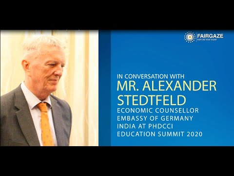 Exclusive Interview-Mr. Alexander Stedtfeld, Economic Counsellor, Embassy Of Germany.