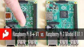 SparkFun: Raspberry Pi B+ V1 vs. Raspberry Pi 2 Model B V1.1