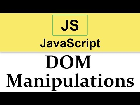 #19-starting-with-dom-manipulations-in-javascript