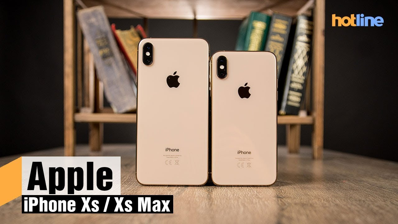 2a55f375b14cd Видеообзор смартфонов Apple iPhone Xs и iPhone Xs Max - ITC.ua