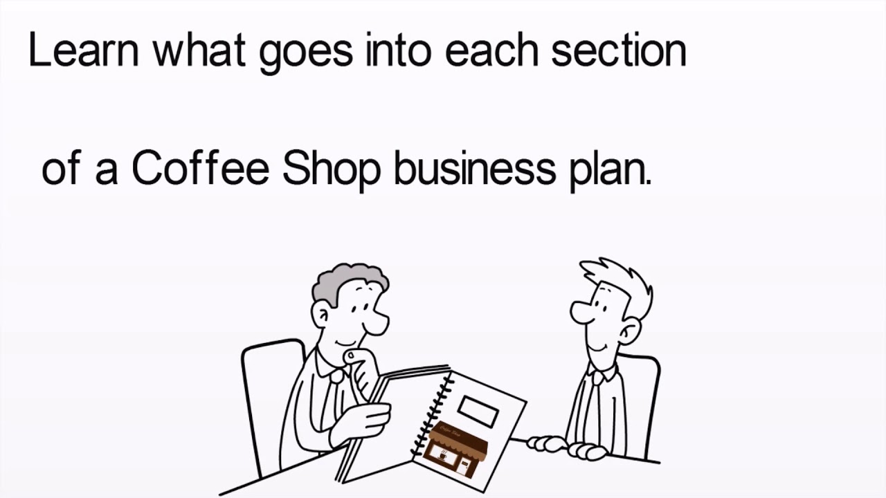 Coffee Shop Business Plan Template Example YouTube - Coffee shop business plan template