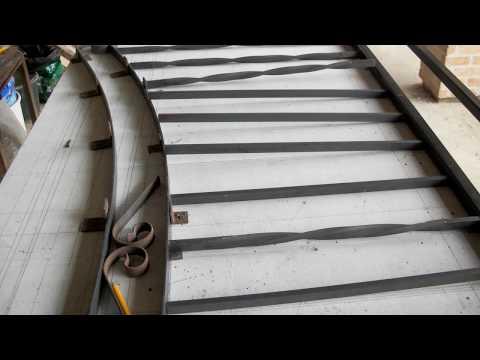 Portail alu portail coulissant pr sentation tschoepp doovi - Comment fabriquer un portail en pvc ...
