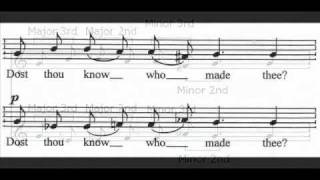 as music vocal music 2013 tavener the lamb harmony verse 1 study guide