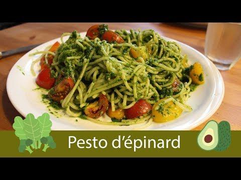 --recette-7---pesto-d'épinard-//-vegan