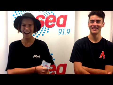 HOO8HOO quized by 91.9SeaFM's Backstage Pass!