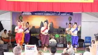 Robam Neary Khmer - Pchum Ben 2015 (Sydney, Australia)