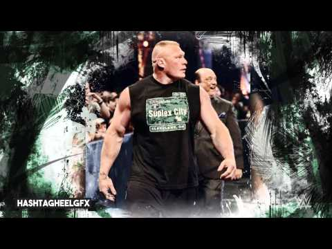 "2015: Brock Lesnar 7th WWE Theme Song - ""Next Big Thing"" (Remix/Remastered) + Download Link ᴴᴰ"