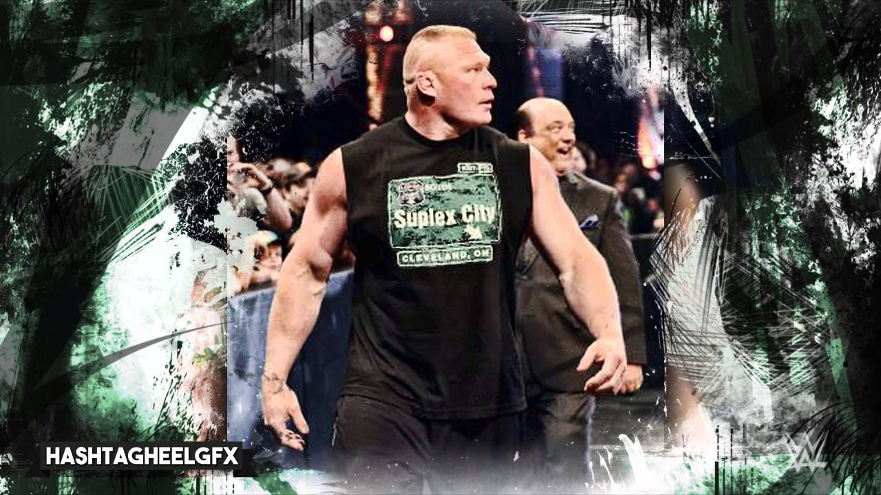 Brock lesnar 6th wwe theme song for 30 minutes next big thing.