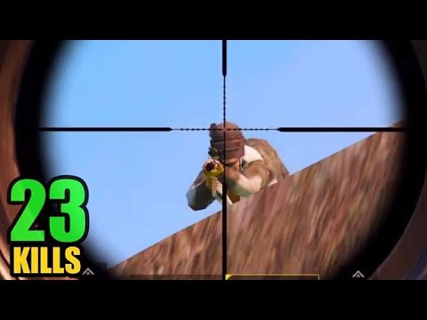 BEST CROSSBOW KILL? | 23 KILLS SOLO VS SQUAD | PUBG MOBILE