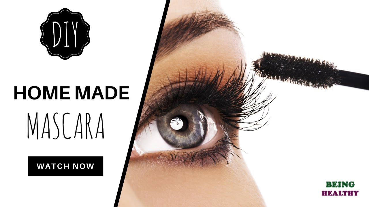 DIY Homemade Mascara | Best Natural Mascaras - #DIY