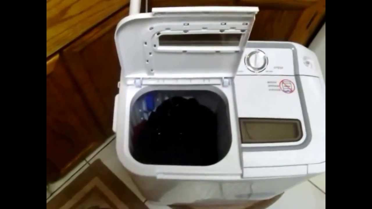 XPB36 Panda Portable Compact Washing Machine with Spinner Dryer ...