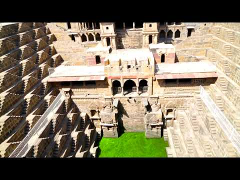 CHAND BAORI: The Ancient Mysterious STEPWELL of ABHANERI