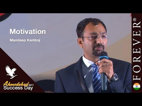 Motivation by Mandeep Kamboj at Ahmedabad Success Day