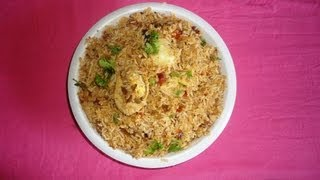 how to cook easy tasty egg biryani in home andhra style by attamma tv