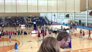 2011 Western Canada Summer Games 17U Girls Volleyball Finals